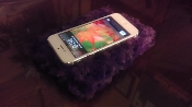 "Smartphone Pillow  ""Purple Lush"""