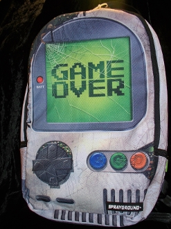 """Game Over"" Backpack"