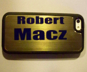 "Personalized ""Smart-Phone"" Name Tag"